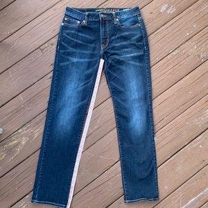 American Eagle Slim Straight Flex Jeans 30x32